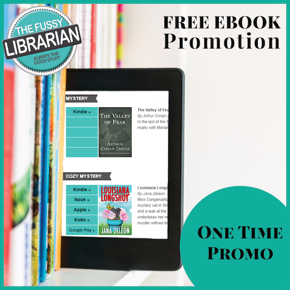 Free Ebook Promotion - One Time Newsletter Promo