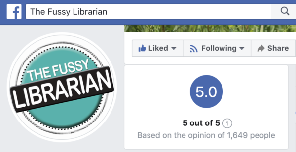 fussy librarian facebook reviews